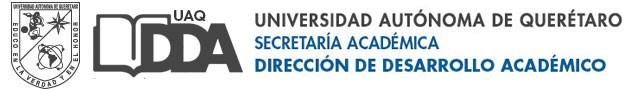 Dirección de Desarrollo Académico